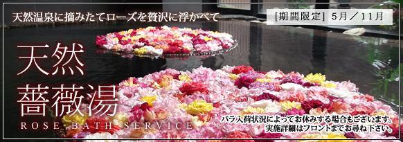 鹿児島 ホテル・天然バラ湯サービス
