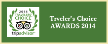 Trip Advisoar: Travelers choice 2014