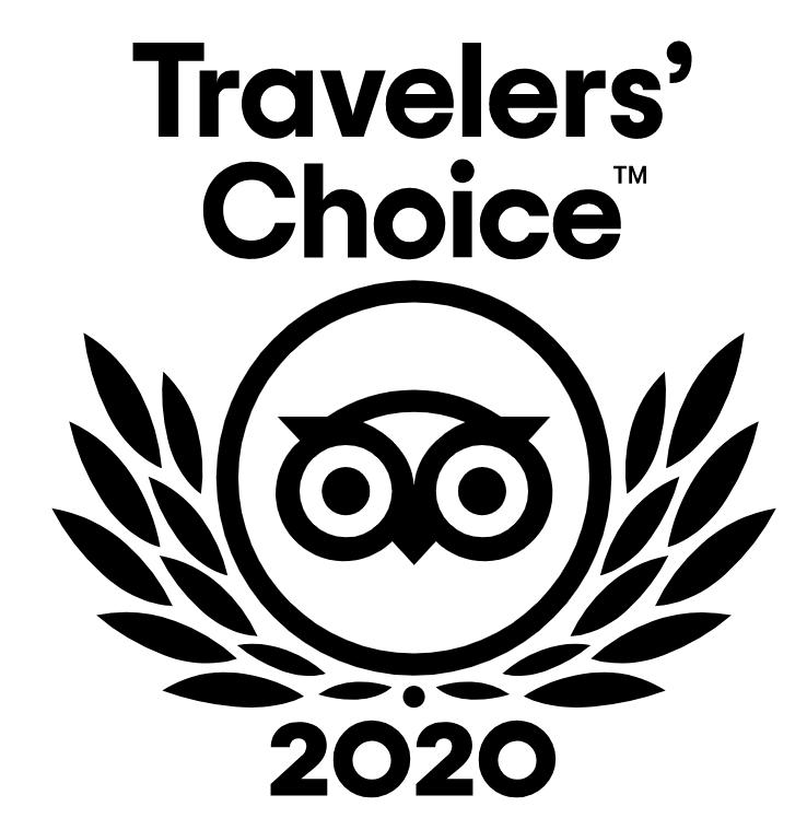 トリップアドバイザートラベラーズチョイス2020を受賞しました!